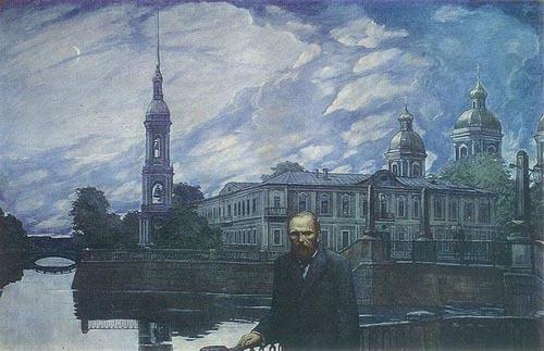 Glazunov Dostoevskii Belaya noch'