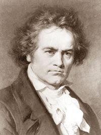 Бетховен портрет