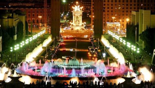 фонтаны Монтжуика